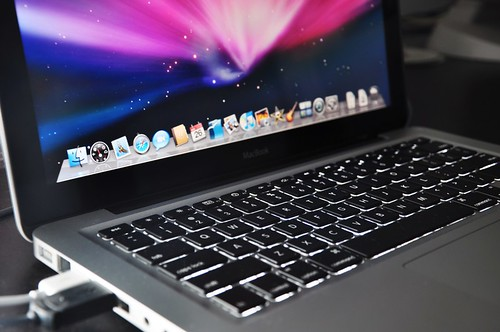 A lovely and talented MacBook... by fd, on Flickr