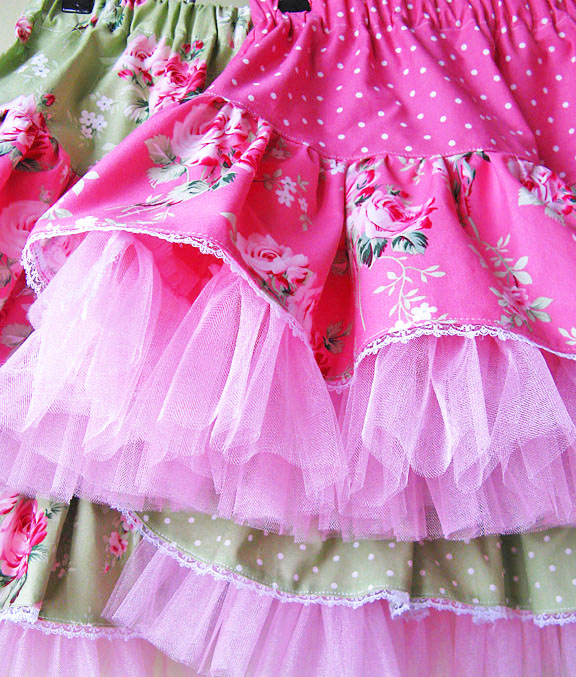 skirts detail