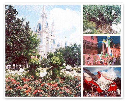 Disney honeymoon memories - 2001