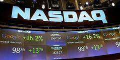 Google Nasdaq stock