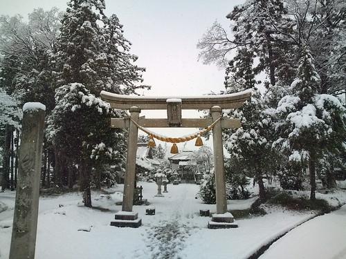 初詣「白山神社」 by you.