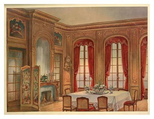 003- Comedor Luis XIV -1907