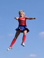 2008 cheerleader (20milestochicago) Tags: cheerleader kneesocks kneehigh kneesox