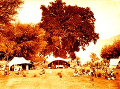 1885 A British colonials' camp in the northern Indian region of Kashmir (colonialbalochistan) Tags: camping people india asia asians tent few males british indians whites females kashmir adults campsite europeans southasia southasians indianpeninsula valeofkashmir
