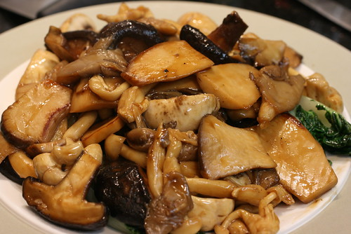 Five Mushrooms Dish