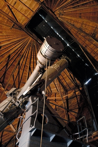 Alvan Clark Telescope at the Lowell Observatory in Flagstaff Arizona