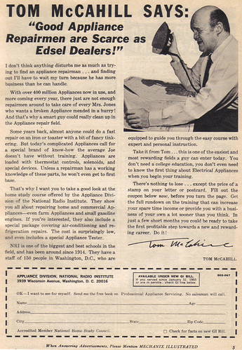 Vintage Ad #694: Tom McCahill Says...