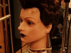 Velma the homemade Binaural Head