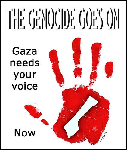 gaza banner