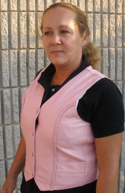 women clothing-Pink Leather Jacket-Dynamicleather-US by Dynamicleather-US