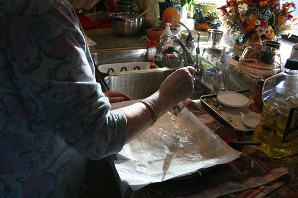 Making Pita