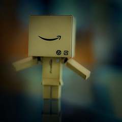 I wear the biggest smile :) (kktp_) Tags: smile toy thailand robot nikon dof bokeh danbo amazoncojp d80 revoltech danboard