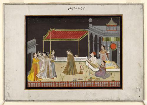 004- Pintura india siglos XVIII-XIX