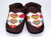 Hot Dot Shoes *Mad Love*  Size 0-6months *Intro Price*