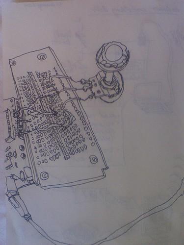 Audio taper pot plugged into Arduino