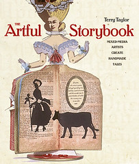 Artful storybook book