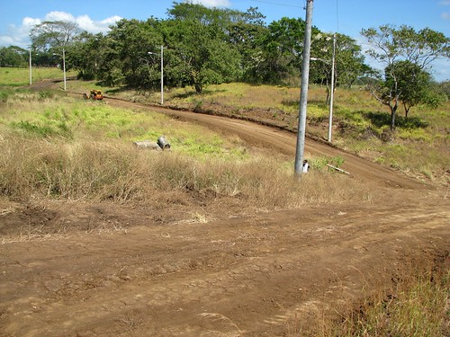 Dirt Level Entry Road