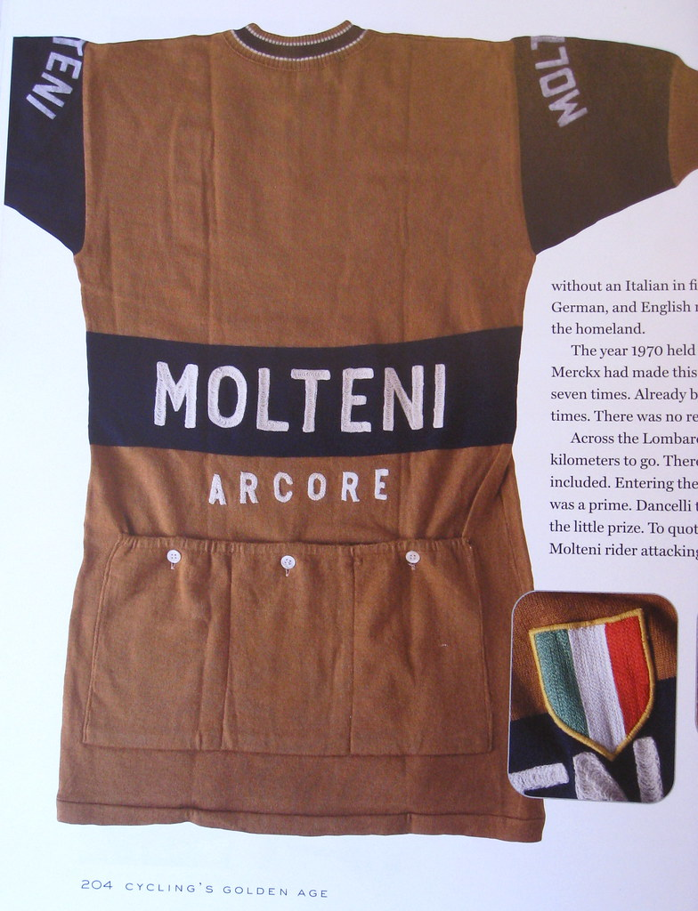 This was the only brown jersey shown in the book. Nicely earthy c52e60554