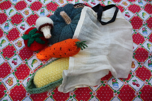 Knitted Veggies