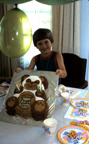 David's 6th birthday party ~ 1985