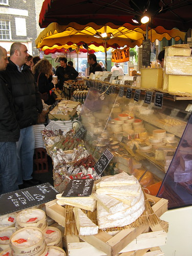 Cheese Vender at Borough Market