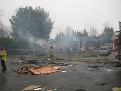 Home explodes due to Gas Leak in Rancho Cordova, CA