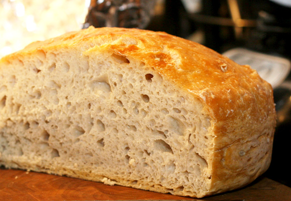 Nancy Baggett's no-knead bread