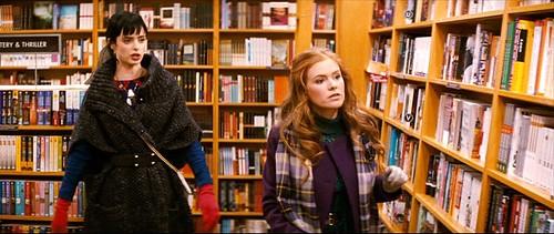 confessions.shopaholic_bookstore_purplecoatscarf