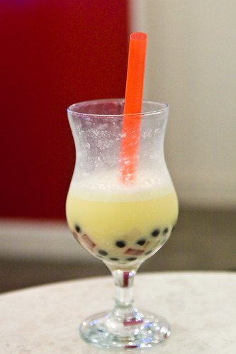 Durian Bubble drink