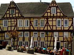 Halftimbered house in Linz (Germany) (Marco Braun) Tags: city germany linz deutschland haus stadt maison rhine rhein ville halftimbered colombage fachwerk fachwerkhaus rhin allemangne rhenus