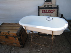 Old Child Bathtub