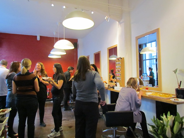 Hoxton Salon Qype event
