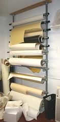 Kee Klamp Paper Rack