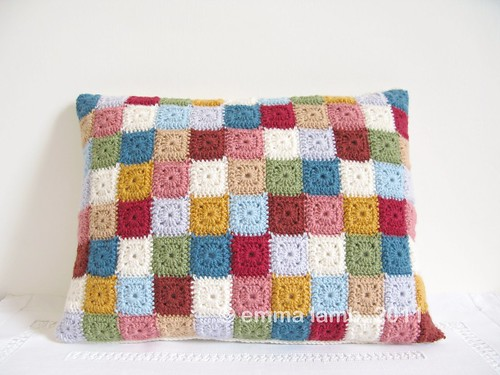 Lillian cushion cover by Emma Lamb