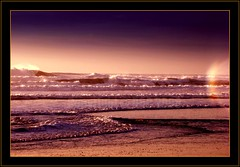 refraction in the mist... (Debasisphotography) Tags: sanfrancisco light sunset sea mist beach evening sony oceanbeach seashore fpc blueribbonwinner impressedbeauty diamondclassphotographer flickrdiamond sonyh9 alemdagqualityonlyclub