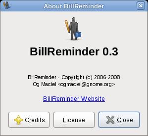 About BillReminder