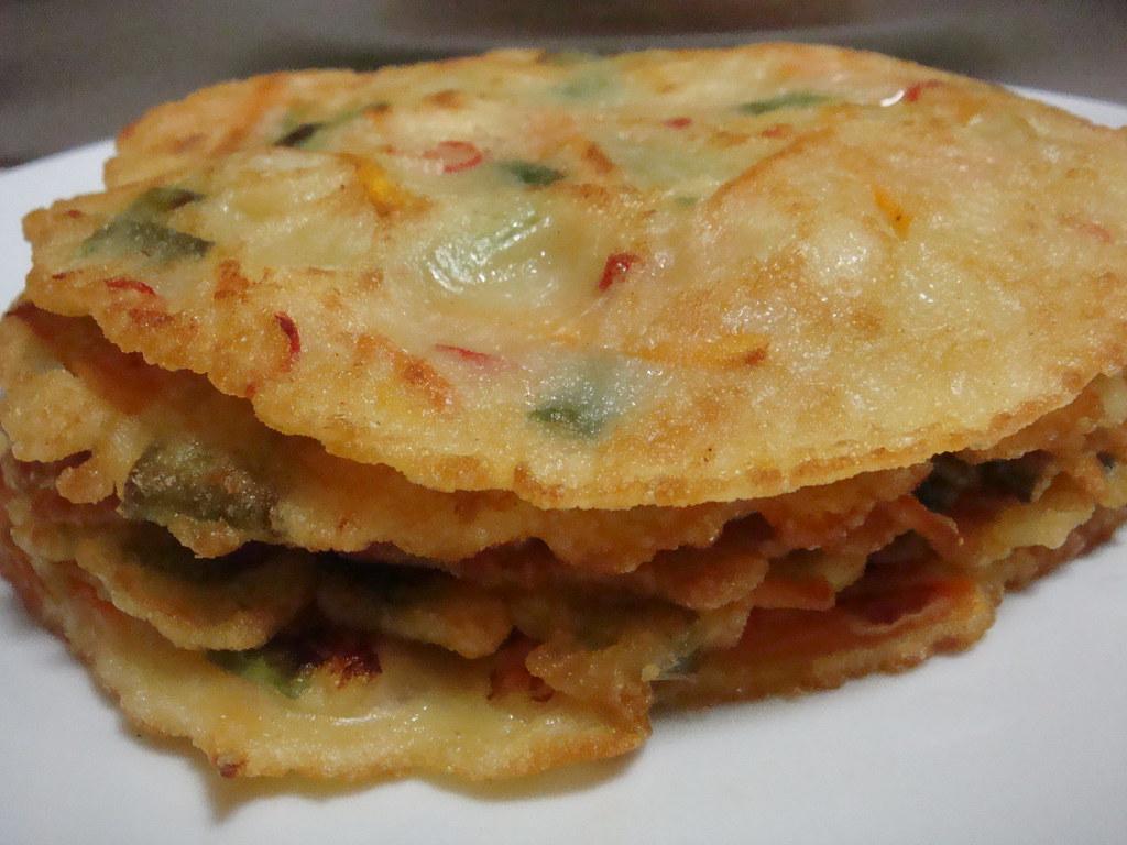 Korean Seafood Pancakes + Recipe