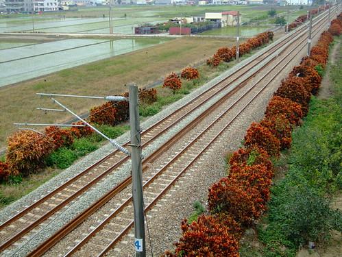 超美的一段鐵路