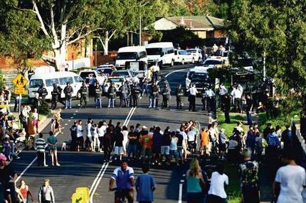 macquarie fields riots