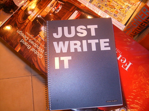 just write it