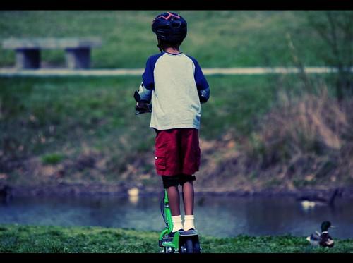 scoot around the park 2