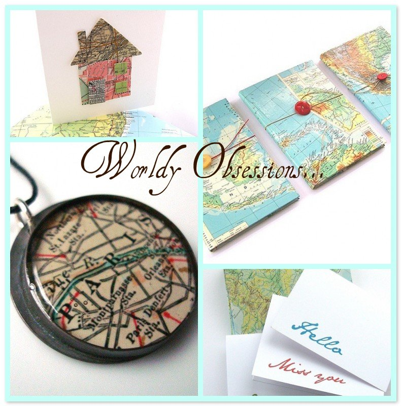 Reclaim | Repurpose | Refresh: Vintage Maps