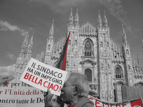 Duomo Milano Bella ciao