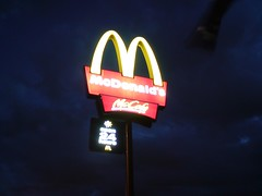 McDonald's Holmesglen - Night Shot K850i