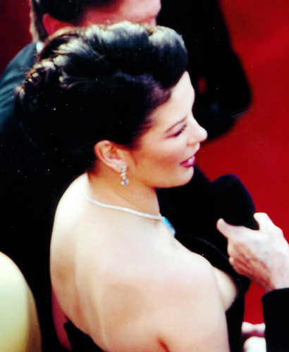 Catherine zeta jones boob slip