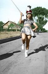 Nana Majorette (Walter Graham) Tags: 1948 nana majorette sarmiento beliasarmiento