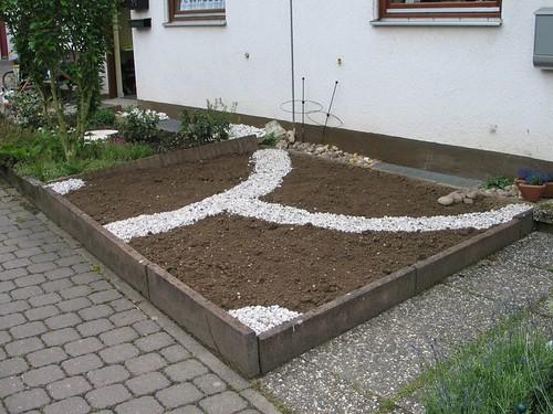 Gartenaktion: Davor