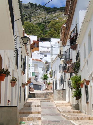 Casas blancas de Mijas por kdperico.