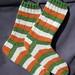 irish flag socks, for Owen