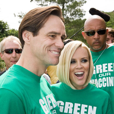 Jenny McCarthy & Jim Carrey at Green Our Vaccines